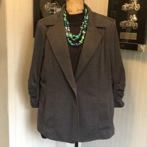 Susan Graver Gray Blazer / Jacket